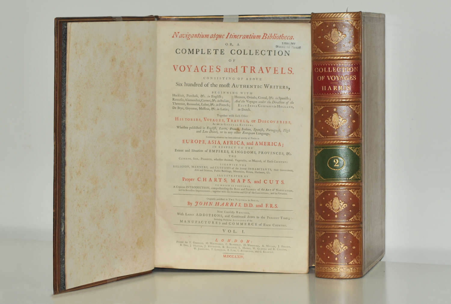 Harris Complete Collection of Voyages and Travels