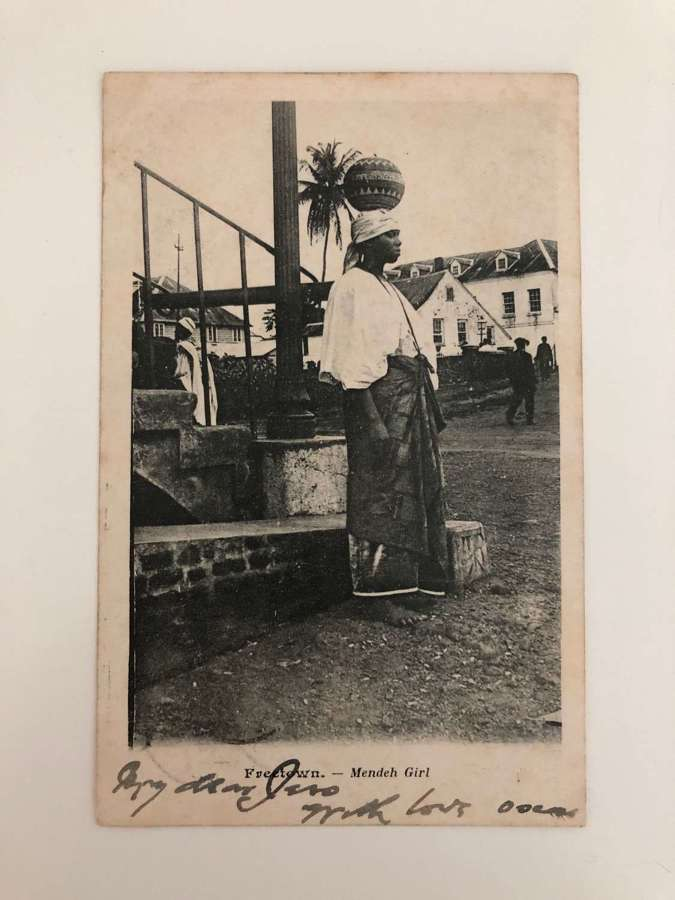 Eighty Original Pictorial Postcards of People and Scenes West Africa